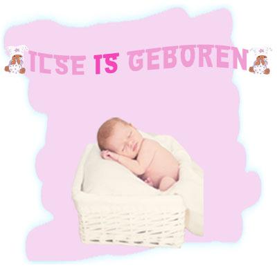geboorteslinger meisje